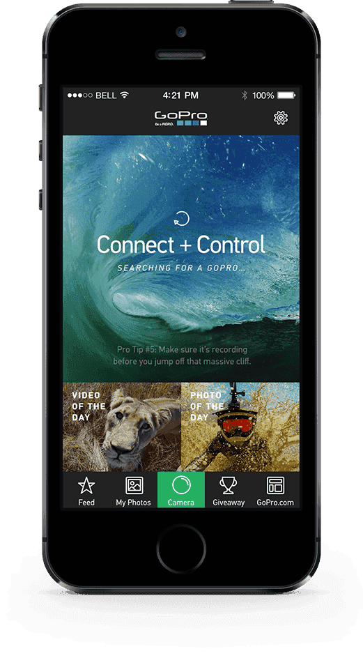 gopro iphone concept